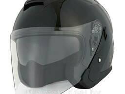 Шлем мото 1STORM HJK526 открытый с очками розовый M