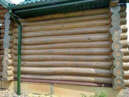 Герметизация деревянного дома. Тёплый шов