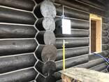 Шлифовка, покраска, конопатка, герметизация швов сруба, дома - фото 1