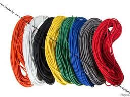 Шнур эспандерный д.8мм. Эластичный, разноцветный. Моток 50м.