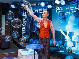Шоу мыльных пузырей в Речице