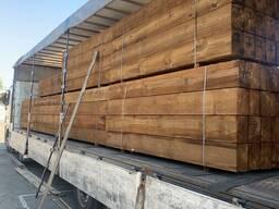 Шпалы деревянные пропитанные, брусья деревянные пропитанные