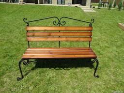 Скамейка деревянная садовая Классик.