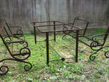Скамейка садовая «Джек» 2 метра - фото 3