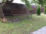 Скамейка садовая «Джек» 2 метра - фото 4