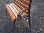 Скамейки садово-парковые - фото 2