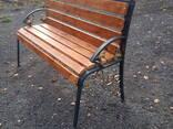Скамейки садово-парковые - фото 3