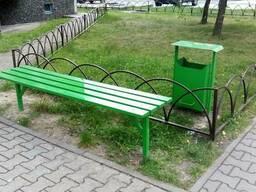 Скамейки в Кобрине. Лавки в Кобрине.