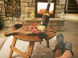 Складные винные столики и столики для пикника. - фото 3