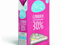 Сливки молочные BRISE 30% 1л ультрапастеризованные