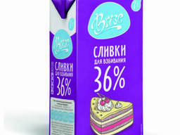 Сливки молочные BRISE 36% 1л ультрапастеризованные