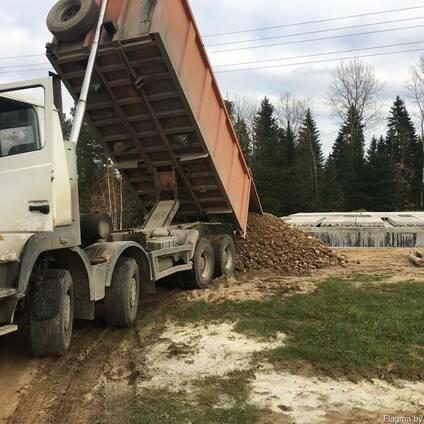 ПГС С3;С4;С5;С12 доставка самосвал 30 тонн(20 куб)