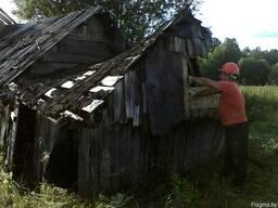 Снос домов, разборка строений