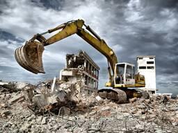 Снос любых сооружений и зданий.