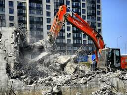 Снос зданий и сооружений. Демонтаж всеразличных строений!