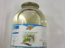 Сок березовый с сахаром 3,0 л