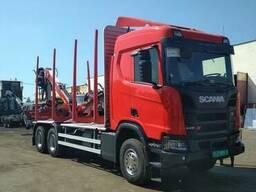 Сортиментовоз ScaniaR500 с TajfunLiv 95K88