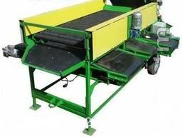 Сортировочная установка НС.100 для сортировки картофеля лука