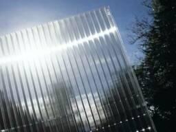 Сотовый поликарбонат с УФ-Защитой, 3мм, прозрачный
