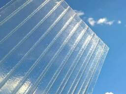Сотовый поликарбонат Армированный 8мм (прозрачный, цветной)