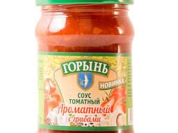 """Соус томатный """"Ароматный с грибами"""" 0,32л. /320гр."""