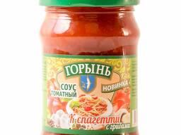 Соус томатный к спагетти с грибами 0,32л. /320гр.
