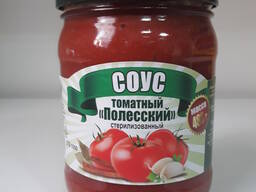 Соус томатный Полесский 0,45л. /480гр.