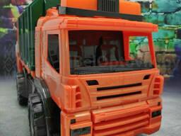Спецтехника машина Мусоросборник (Мусоровоз) с контейнером Maxi (47 х 16 х 25 см).