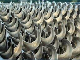 Спираль Шнека 160 мм-20$, 200 мм-20$, 250 мм-25$, 300 мм 30$