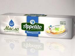 """Спред растительно-сливочный """"Appetito"""" с мдж 62,5% 500гр"""