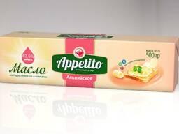 """Спред растительно-сливочный """"Appetito"""" с мдж 82,5% 500гр."""