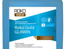Средство моющее для стеклянных поверхностей roko gold glawin