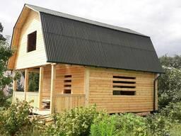 Сруб Дома 6х8 Цены низкие, качество - на высоте