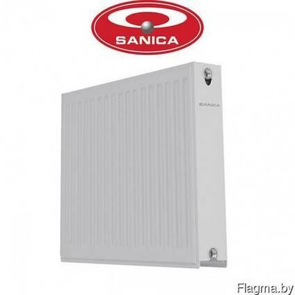 Стальной панельный радиатор Sanica 22 тип 500*1000 (боковое)