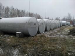Стальные емкости резервуары различной кубатуры 3-50-100м3