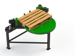 Станок для обрезки углов деревянных поддонов