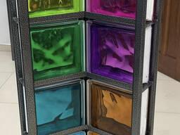 Стеклоблок цветной