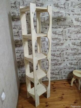 Стелаж деревянный