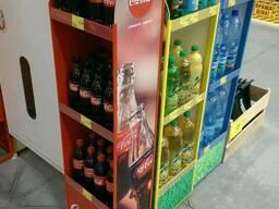 Стенд рекламный для воды Coca-Cola Подробнее: