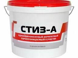 Стиз-А акриловый паропроницаемый герметик 7 кг (ведро)