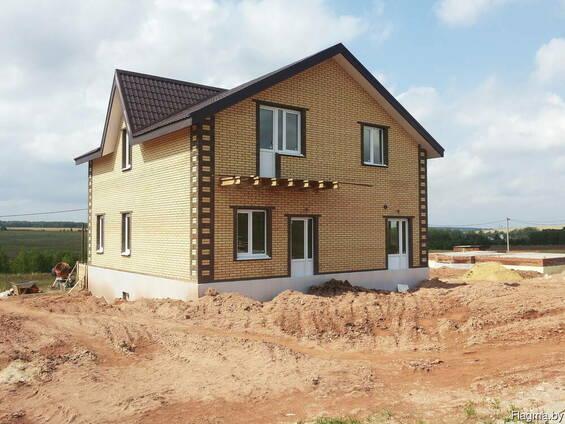 Строительство домов из кирпича под ключ в Воложинском р-не
