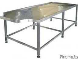 Стол для формовки колбасных изделий из нержавеющей стали