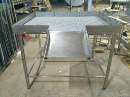 Стол нутровочный со склизом из нержавеющей стали
