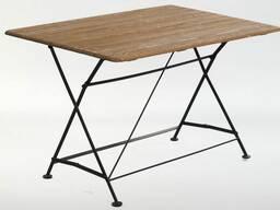 Стол прямоугольный Holzhof ковка дуб
