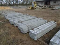 Столбы шпалерные бетонные 3м.