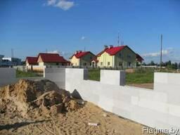 Строительные стеновые блоки несъемной опалубки.