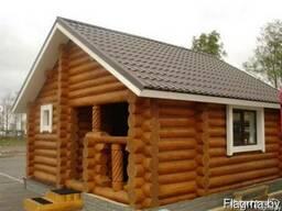 Строительство деревянных домов, бань, беседок, хозяйственных
