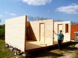 Ремонт деревянных каркасных домов.