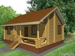 Строительство домов, бань, беседок из оцилиндрованного бруса