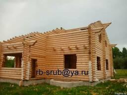 Строительство, домов, бань из бруса, бревна, кирпича, блоков